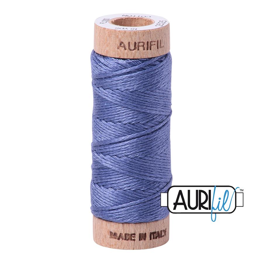 Aurifil Cotton Embroidery Floss, 2525 Dusty Blue Violet