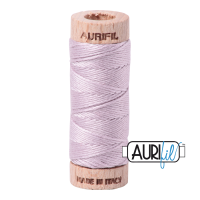 Aurifil Cotton Embroidery Floss, 2564 Pale Lilac