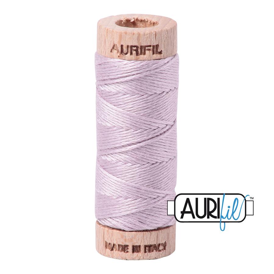 Aurifil Cotton Embroidery Floss, 2564 Pale Lilac
