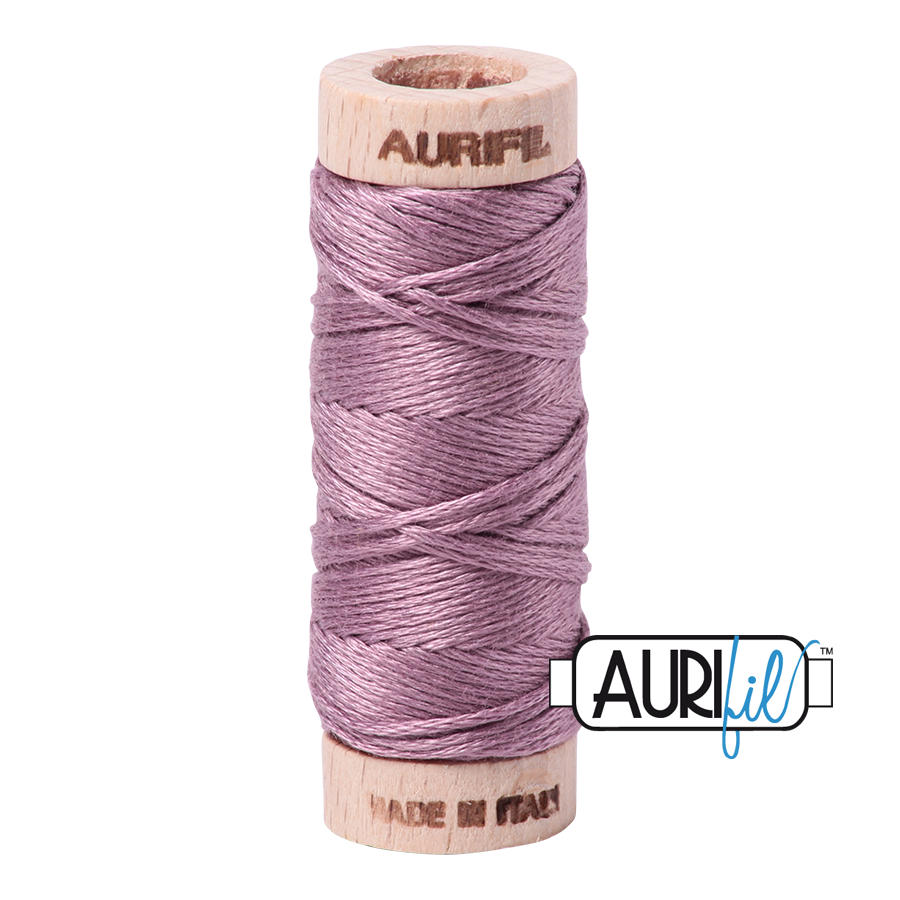 Aurifil Cotton Embroidery Floss, 2566 Wisteria