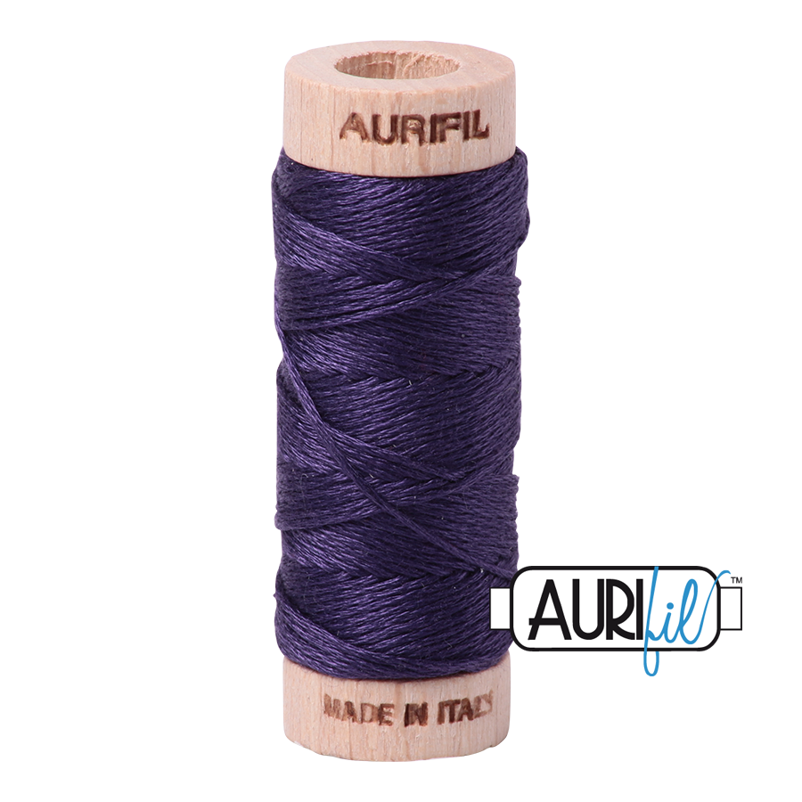 Aurifil Cotton Embroidery Floss, 2581 Dark Dusty Grape