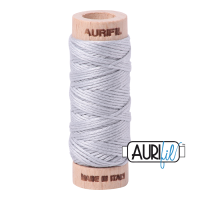 Aurifil Cotton Embroidery Floss, 2600 Dove