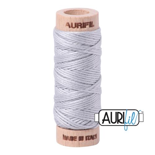 Aurifil Cotton Embroidery Floss, 2600 Dove