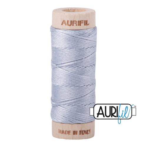 Aurifil Cotton Embroidery Floss, 2612 Arctic Sky