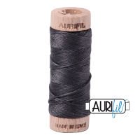 Aurifil Cotton Embroidery Floss, 2630 Dark Pewter