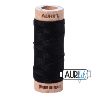 Aurifil Cotton Embroidery Floss, 2692 Black