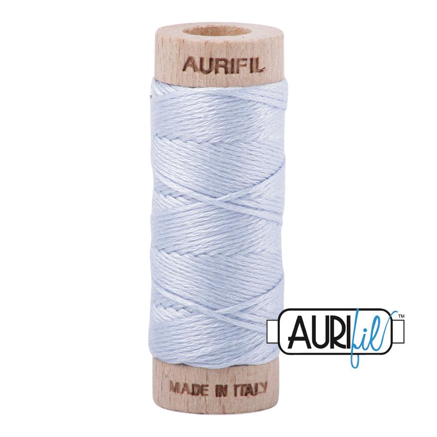 Aurifil Cotton Embroidery Floss, 2710 Light Robins Egg