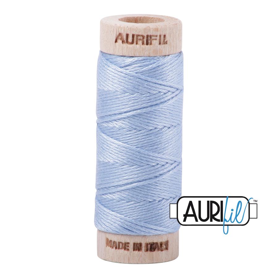 Aurifil Cotton Embroidery Floss, 2715 Robins Egg