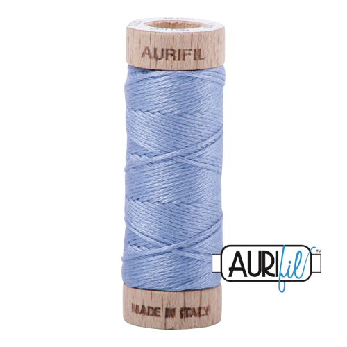 Aurifil Cotton Embroidery Floss, 2720 Light Delft Blue