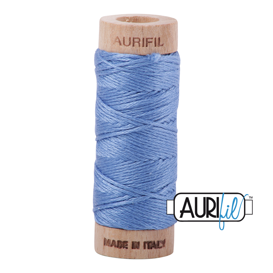Aurifil Cotton Embroidery Floss, 2725 Light Wedgewood