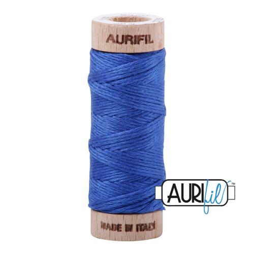 Aurifil Cotton Embroidery Floss, 2735 Medium Blue