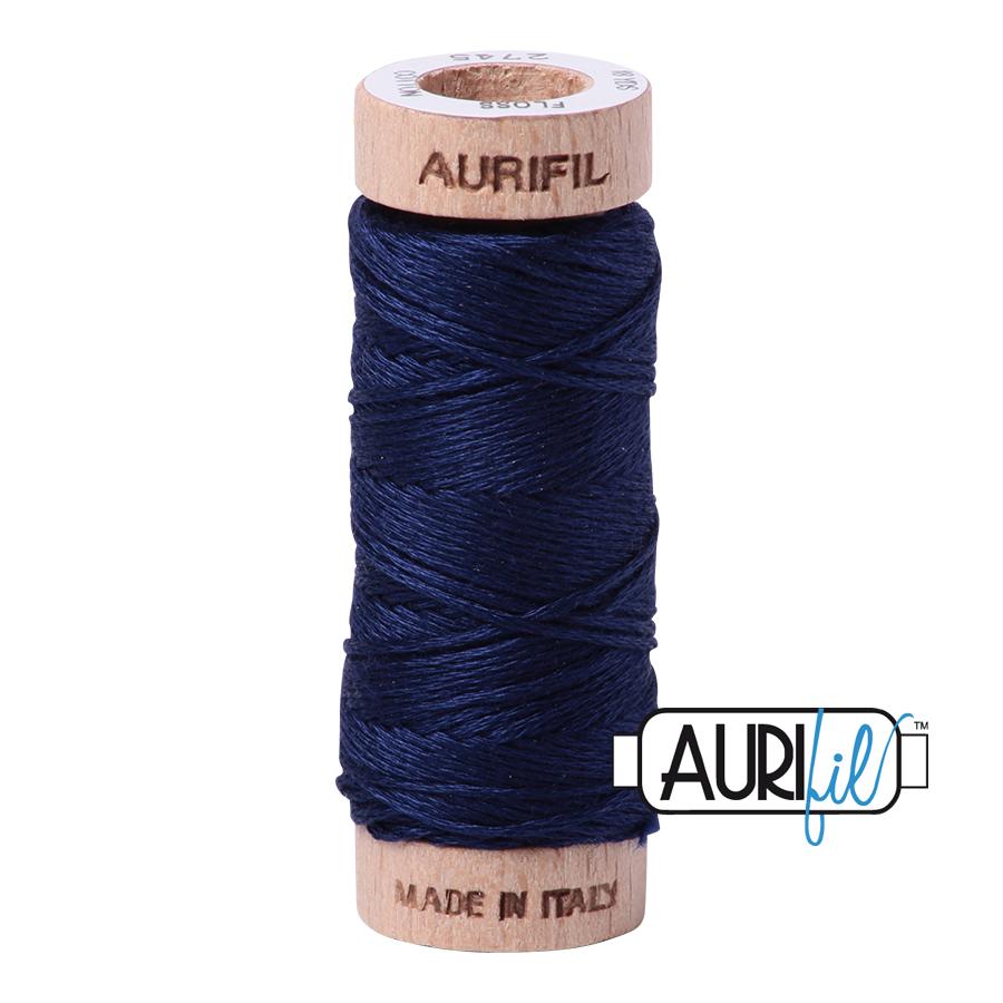 Aurifil Cotton Embroidery Floss, 2745 Midnight