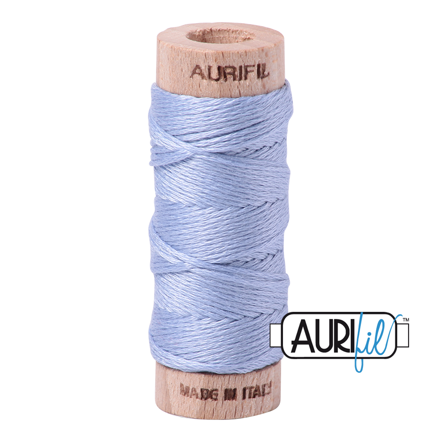 Aurifil Cotton Embroidery Floss, 2770 Very Light Delft