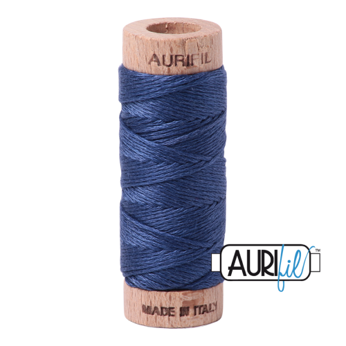 Aurifil Cotton Embroidery Floss, 2775 Steel Blue