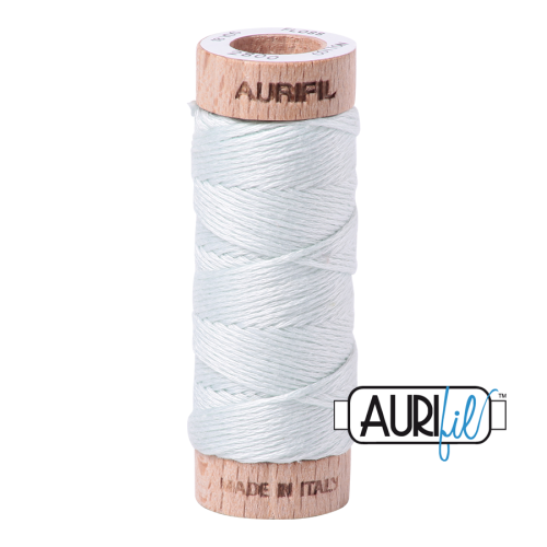 Aurifil Cotton Embroidery Floss, 2800 Mint Ice