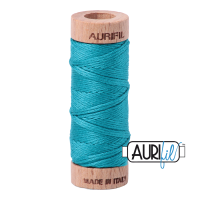 Aurifil Cotton Embroidery Floss, 2810 Turquoise