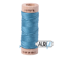 Aurifil Cotton Embroidery Floss, 2815 Teal