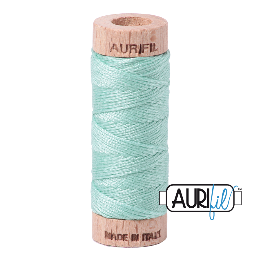 Aurifil Cotton Embroidery Floss, 2835 Medium Mint