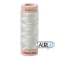 Aurifil Cotton Embroidery Floss, 2843 Light Grey Green