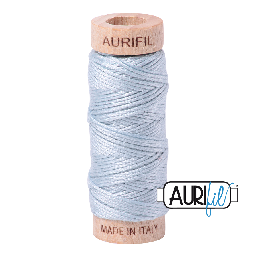 Aurifil Cotton Embroidery Floss, 2846 Iceberg