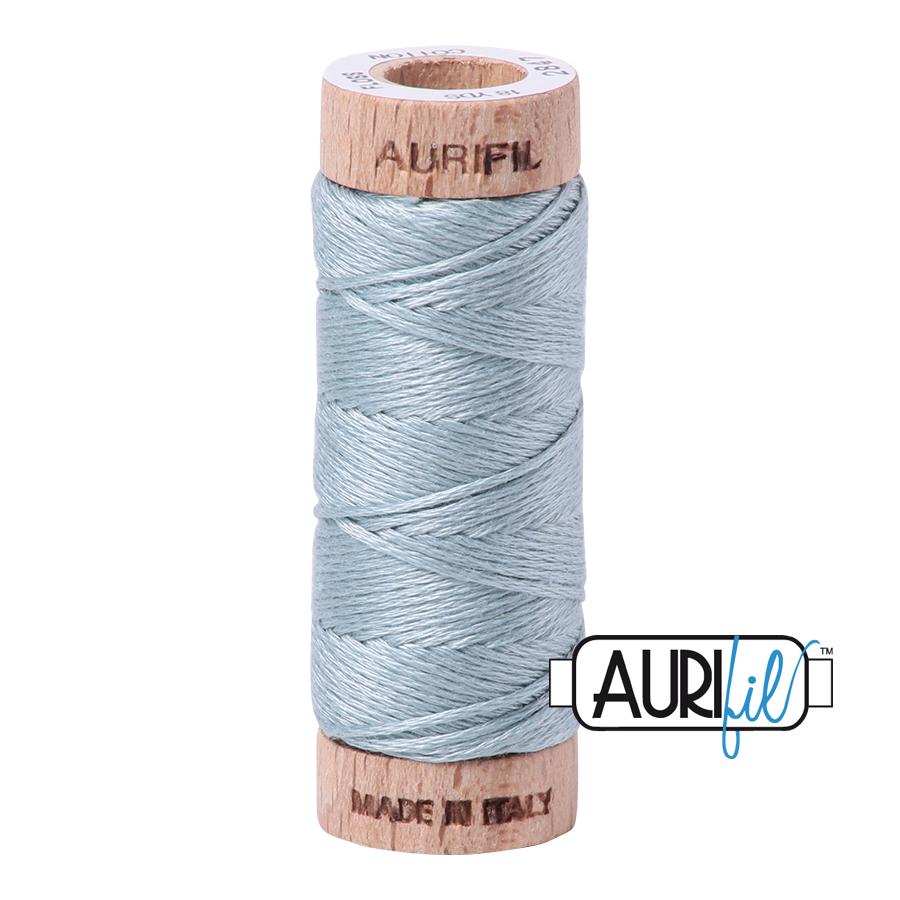 Aurifil Cotton Embroidery Floss, 2847 Light Grey Blue