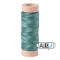 Aurifil Cotton Embroidery Floss, 2850 Medium Juniper