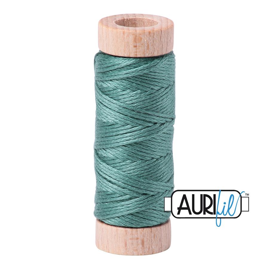 Aurifil Cotton Embroidery Floss, 2850 Medium Juniper