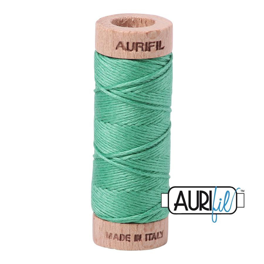 Aurifil Cotton Embroidery Floss, 2860 Light Emerald