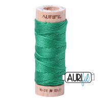 Aurifil Cotton Embroidery Floss, 2865 Emerald