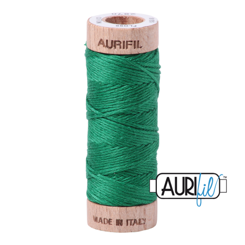 Aurifil Cotton Embroidery Floss, 2870 Green