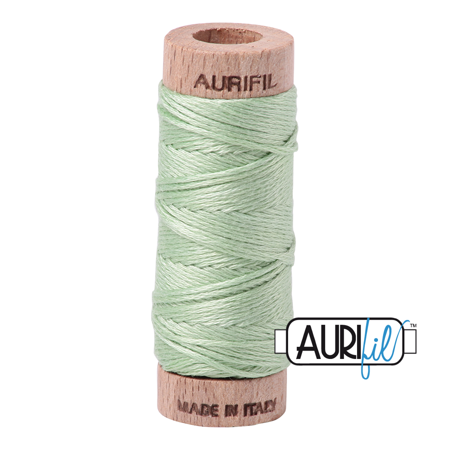Aurifil Cotton Embroidery Floss, 2880 Pale Green