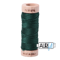 Aurifil Cotton Embroidery Floss, 2885 Medium Spruce