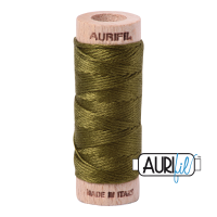 Aurifil Cotton Embroidery Floss, 2887 Very Dark Olive