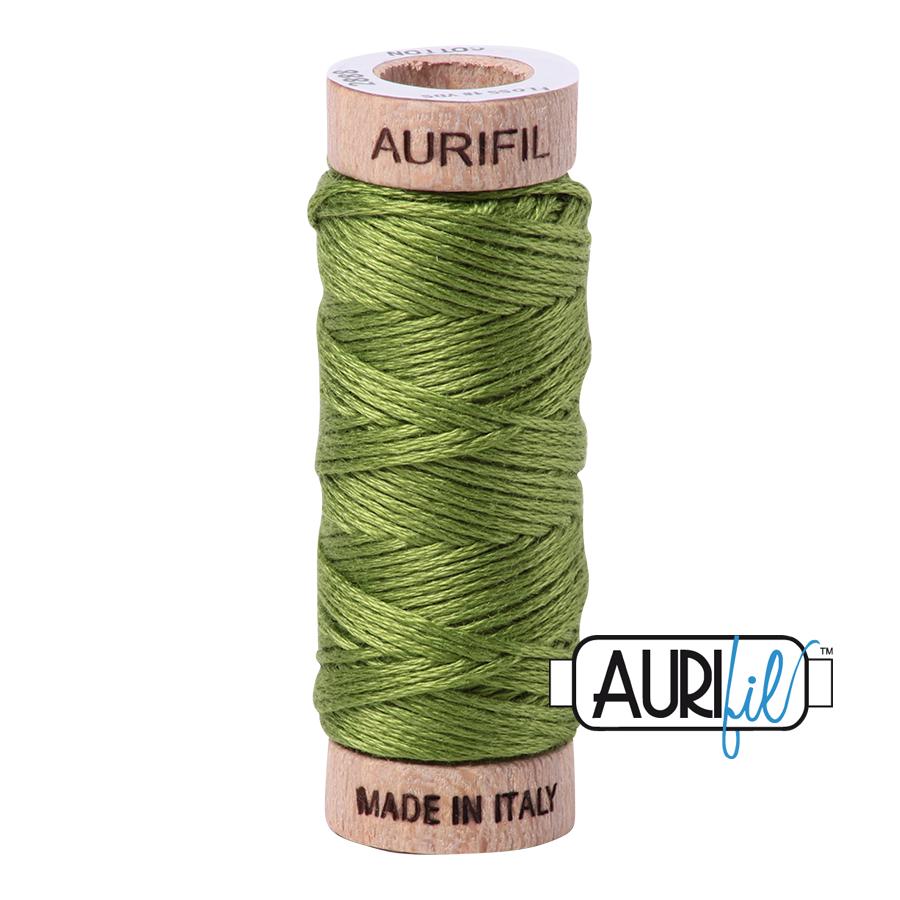 Aurifil Cotton Embroidery Floss, 2888 Fern Green