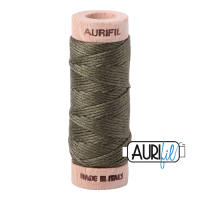 Aurifil Cotton Embroidery Floss, 2905 Army Green