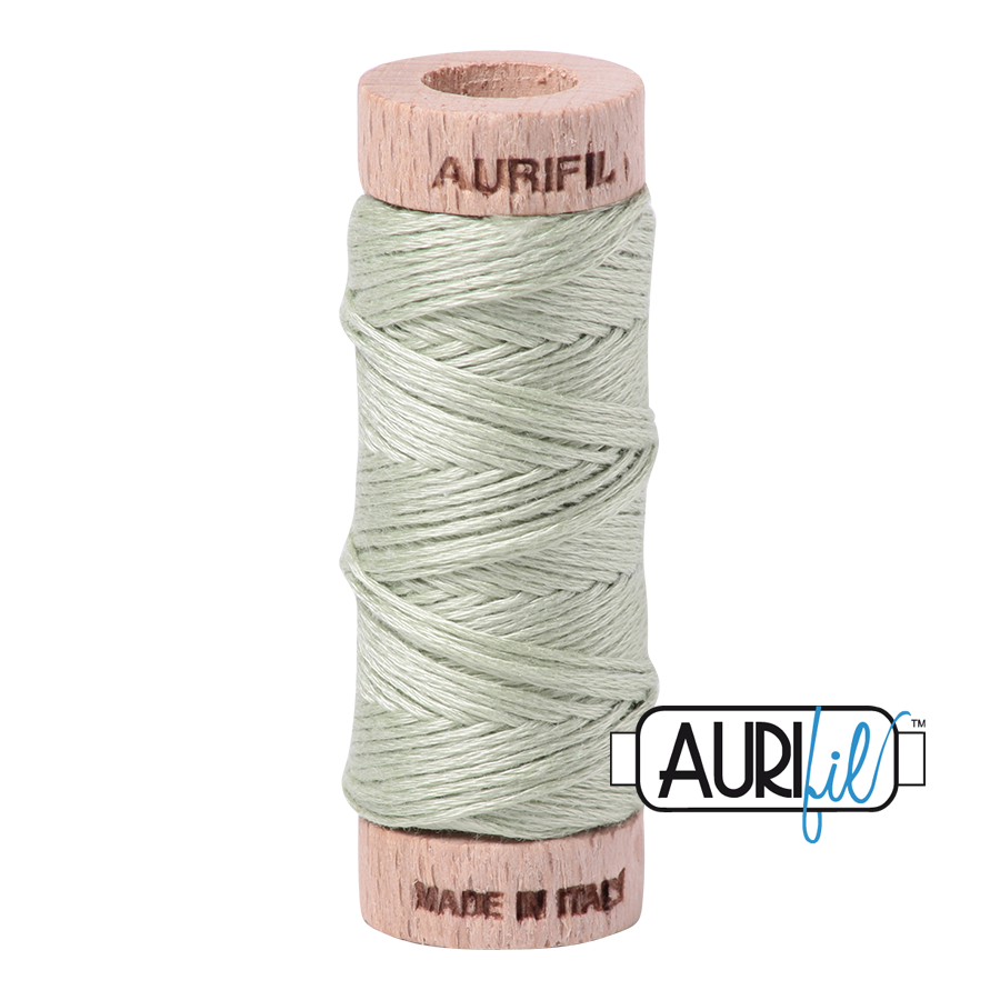 Aurifil Cotton Embroidery Floss, 2908 Spearmint