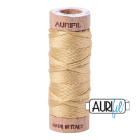 Aurifil Cotton Embroidery Floss, 2915 Very Light Brass