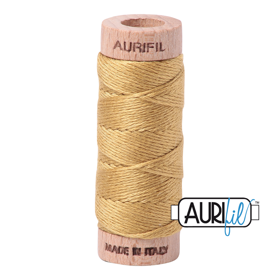 Aurifil Cotton Embroidery Floss, 2920 Light Brass