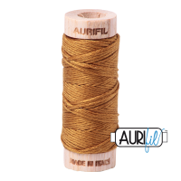 Aurifil Cotton Embroidery Floss, 2975 Brass
