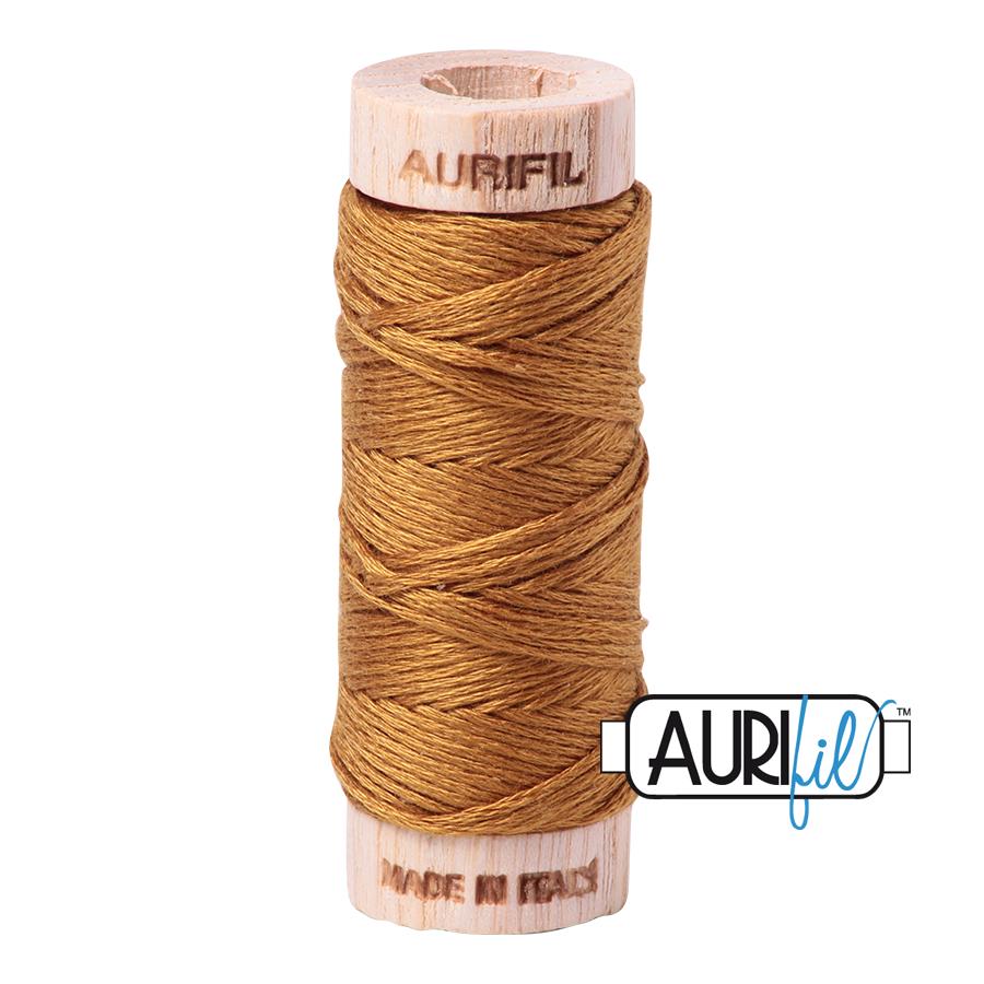 Aurifil Cotton Embroidery Floss, 2975 Brass