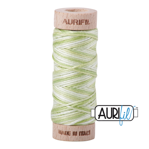 Aurifil Cotton Embroidery Floss, 3320 Light Spring Green
