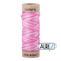Aurifil Cotton Embroidery Floss, 3660 Bubblegum