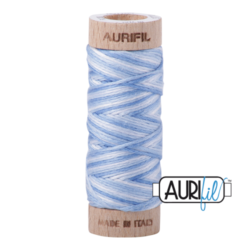 Aurifil Cotton Embroidery Floss, 3770 Stone Washed Denim