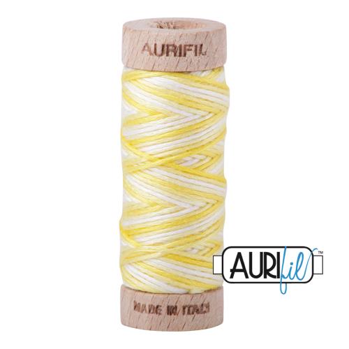 Aurifil Cotton Embroidery Floss, 3910 Lemon Ice