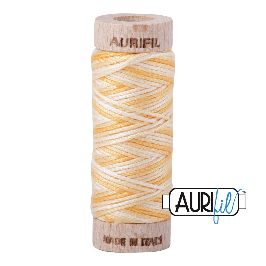 Aurifil Cotton Embroidery Floss, 3920 Golden Glow