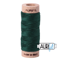 Aurifil Cotton Embroidery Floss, 4026 Forest Green