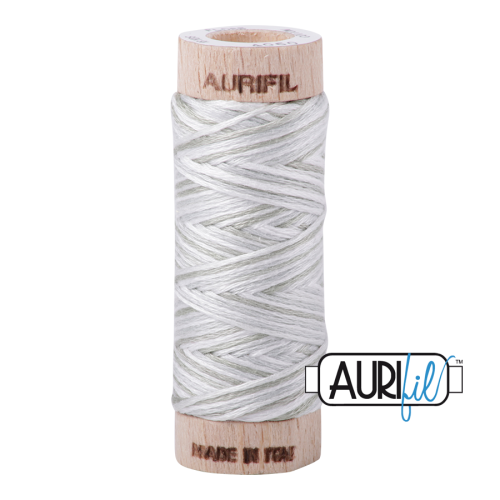 Aurifil Cotton Embroidery Floss, 4060 Silver Moon