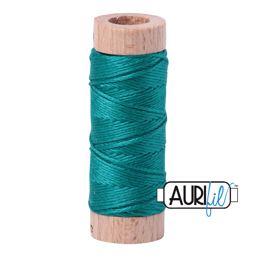 Aurifil Cotton Embroidery Floss, 4093 Jade