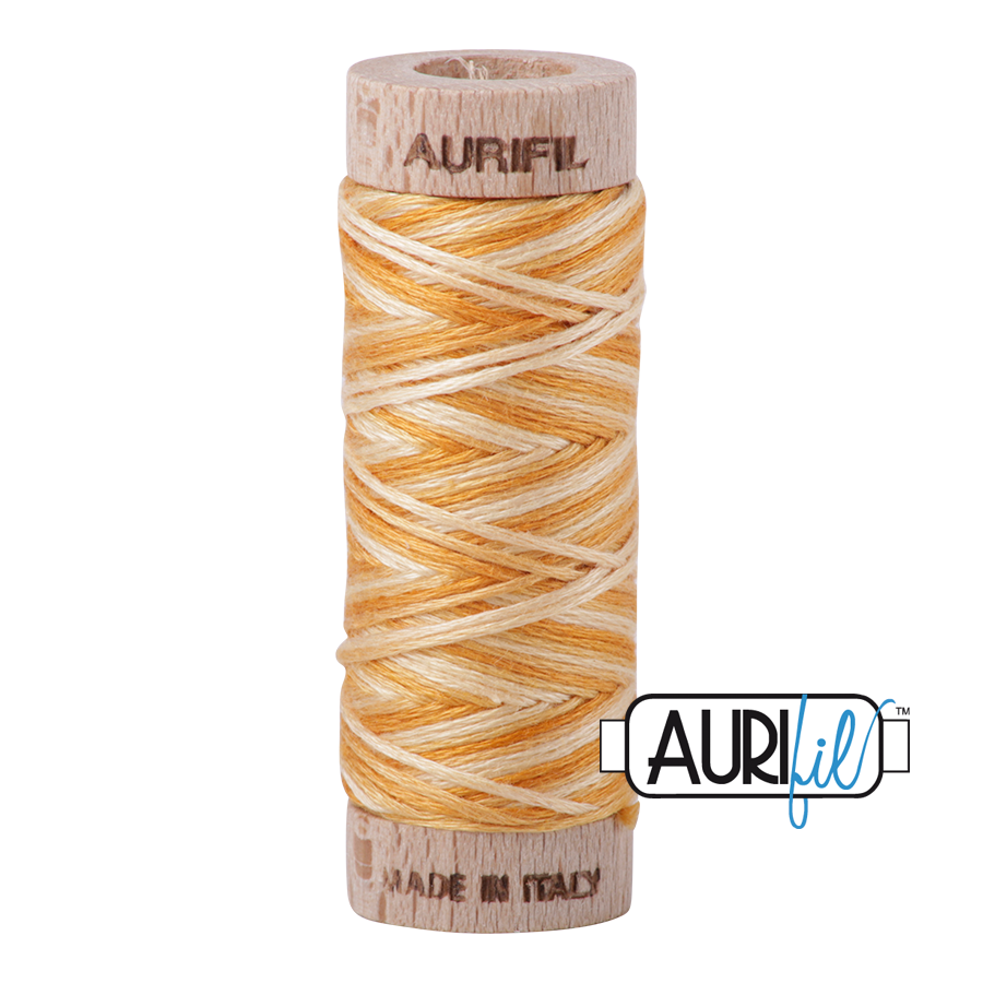 Aurifil Cotton Embroidery Floss, 4150 Creme Brule