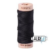 Aurifil Cotton Embroidery Floss, 4241 Very Dark Grey